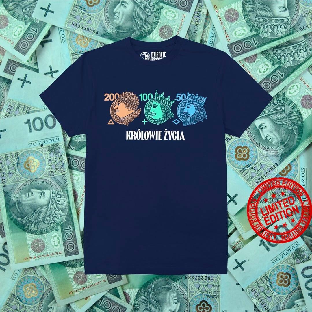 Krolowie Zycia 200 100 50 Shirt