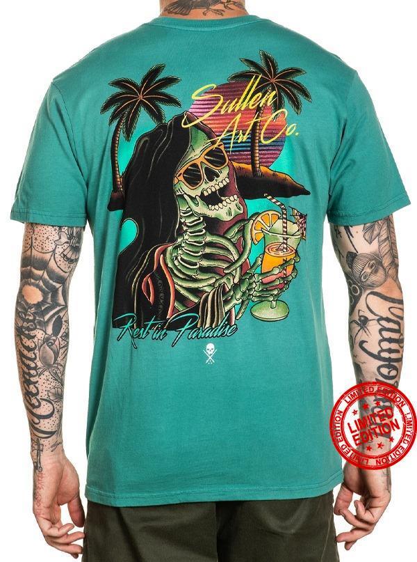 Sullen Art Co Rest In Paradise Shirt
