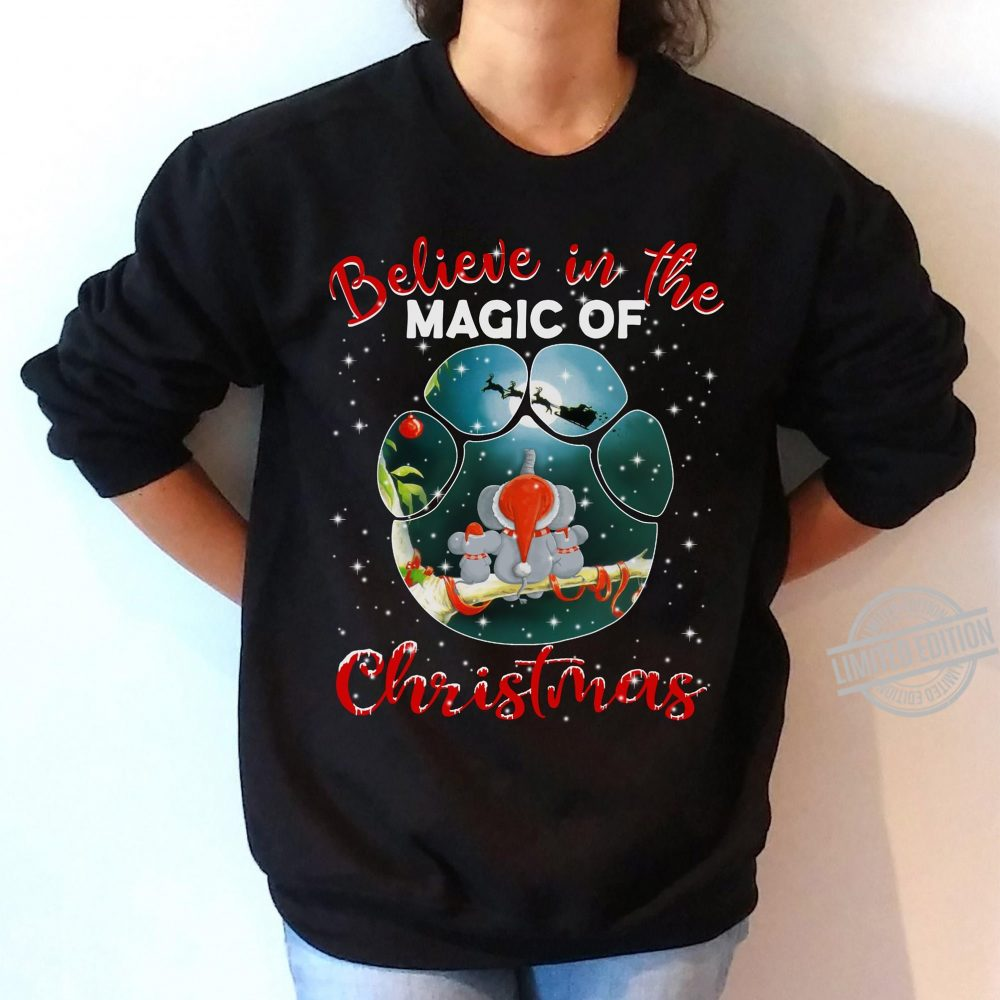 Believe In The Magic Of Christmas Shirt