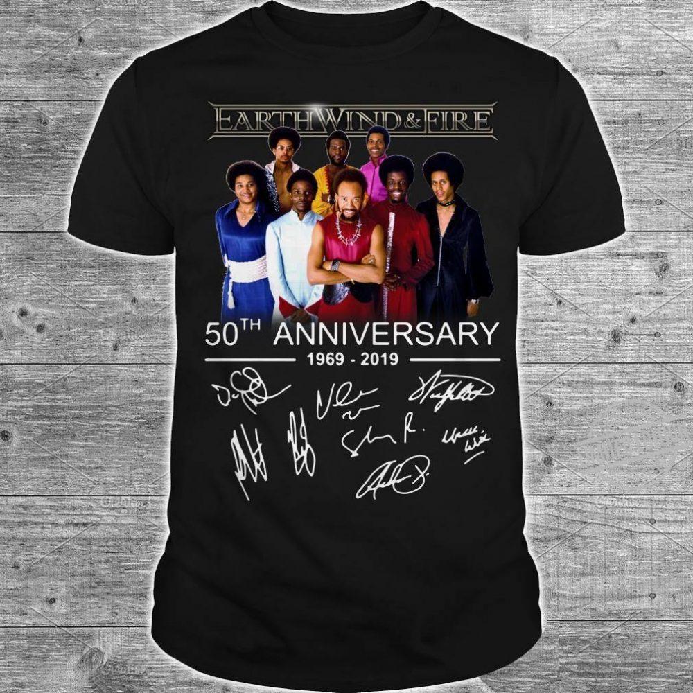 Earth Wind & Fire 50th Anniversary Shirt