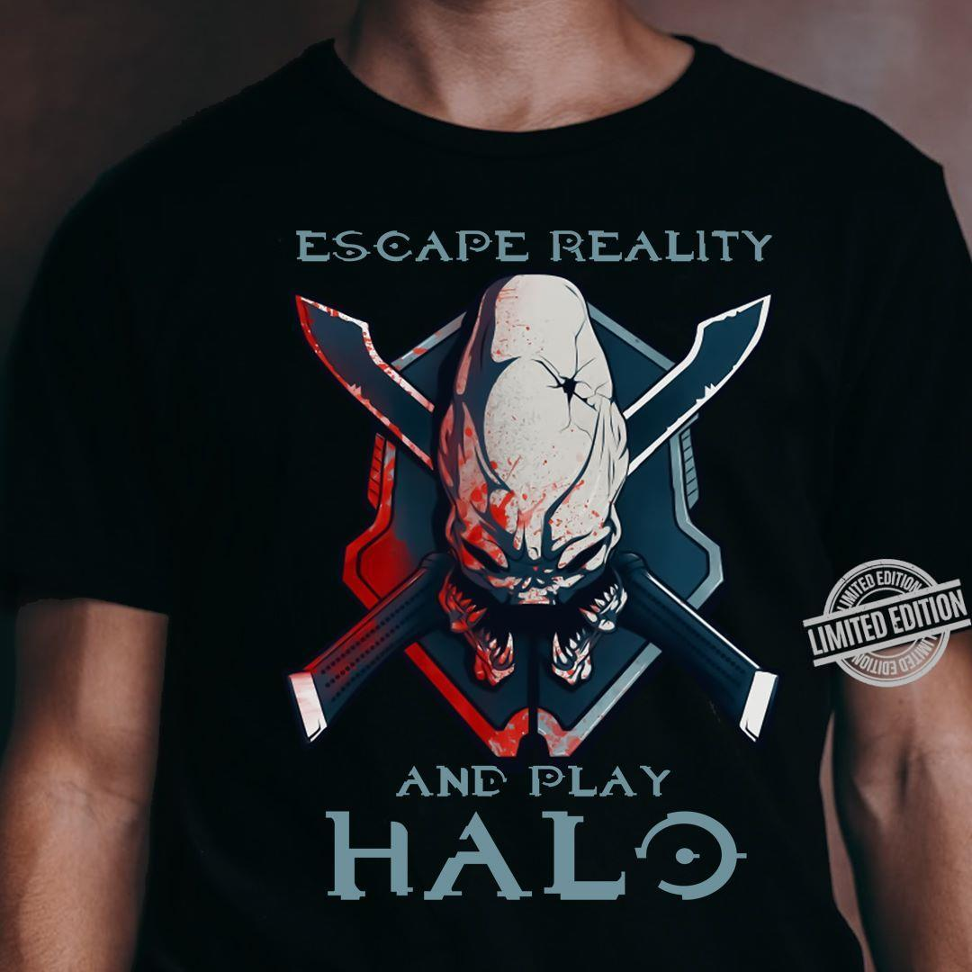 Excape Reality And Play Halo Shirt