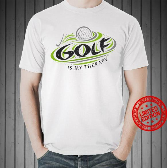 Golf Is My Therapy Shirt