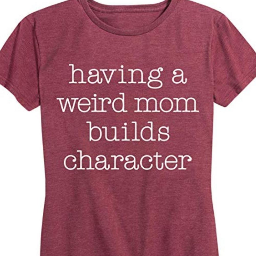 Having a Weird om Builds Character Shirt