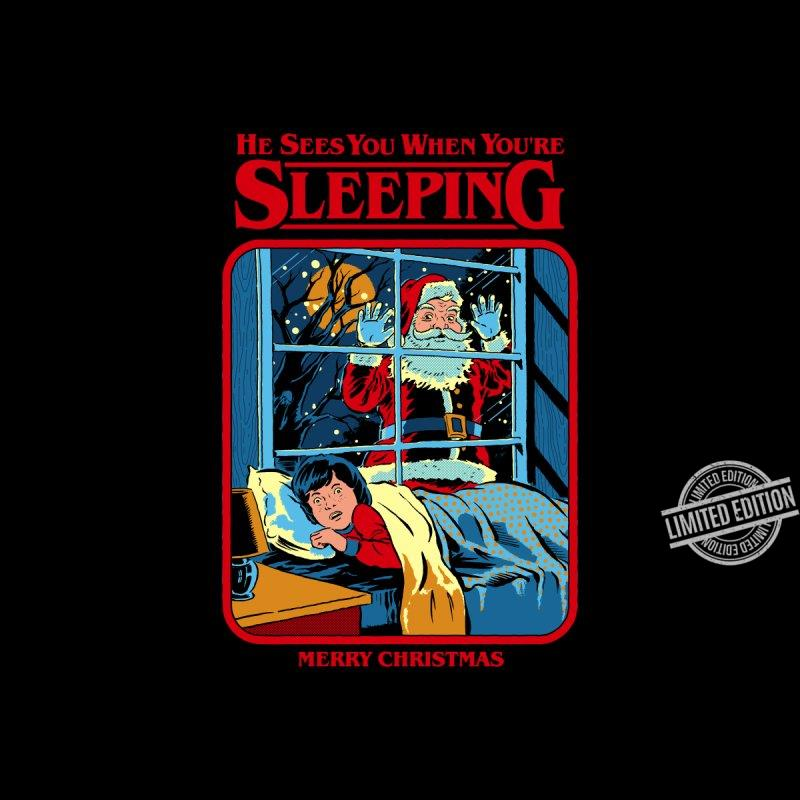 He Sees You When You're Sleeping Merry Christmas Shirt
