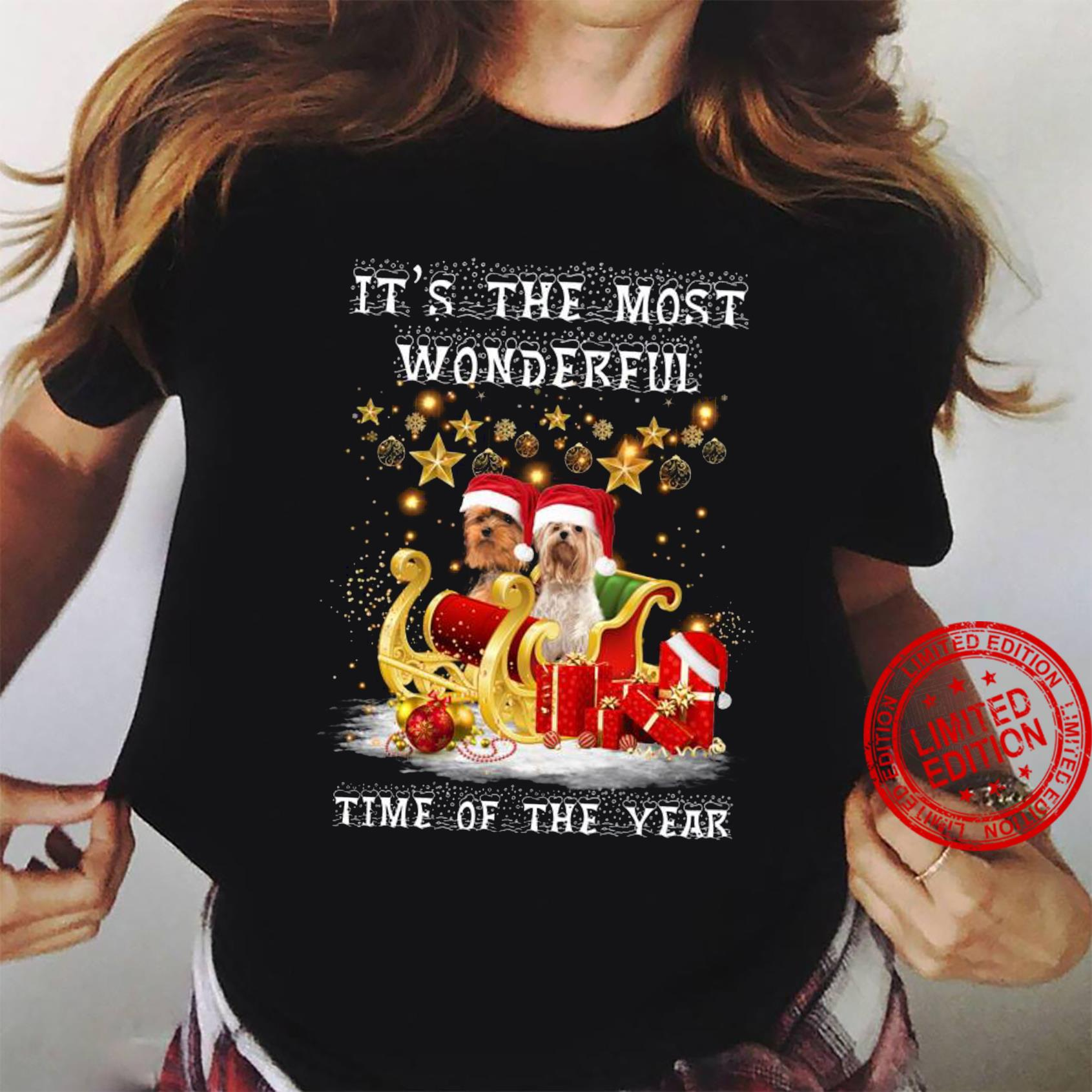 It's The Most Wonderful Time Of The Year Shirt ladies tee