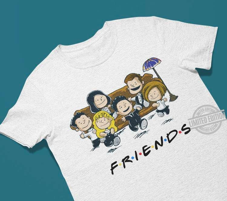 Pretty Peanut Charlie Brown Friends Shirt