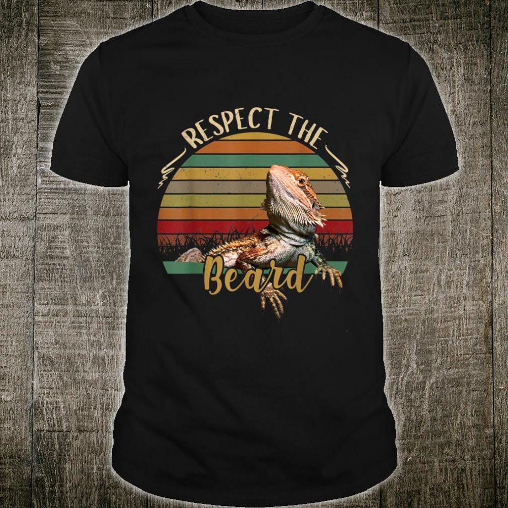 Respect The Beard Shirt